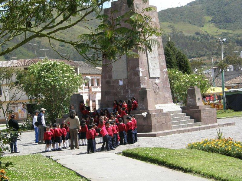 School kids in uniform