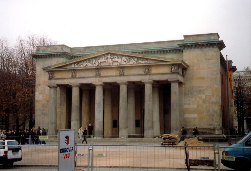 A classical-style building on Unter den Linden.