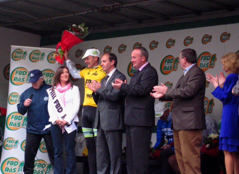 David McCann wins stage four of the FBD Ras for Ireland