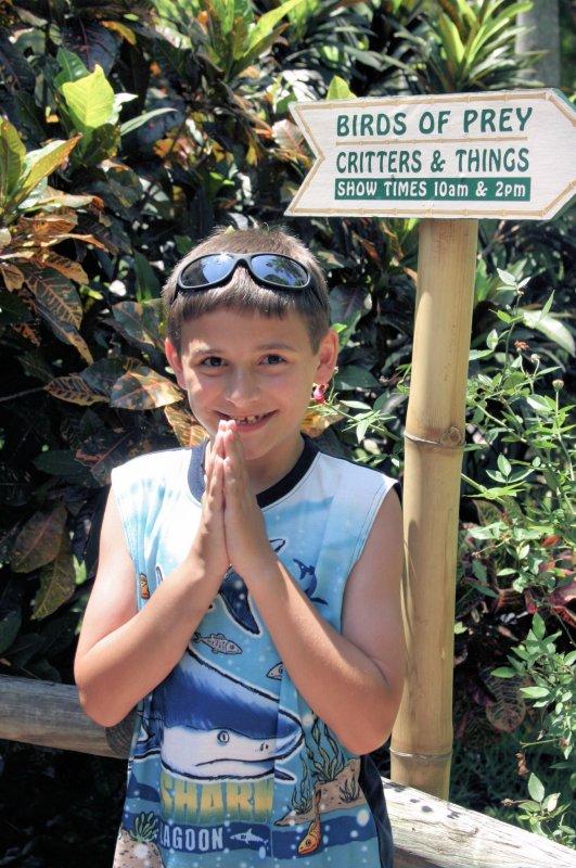 J of Prey @ Jungle Gardens
