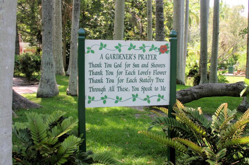 Gardners prayer...