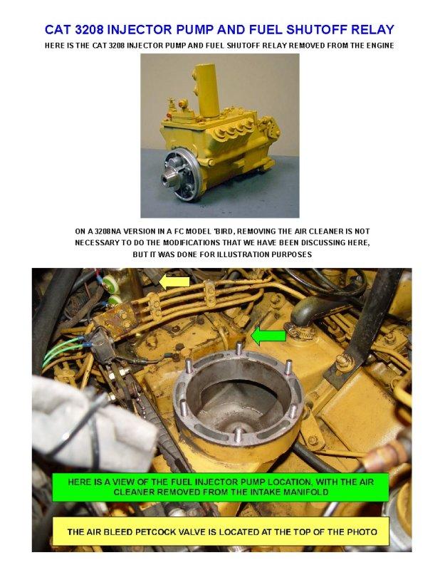FC Fuel Shutoff Solenoid Modification Repair - Wanderlodge