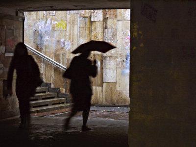 Rainy day, Kiev, Ukraine, 2009