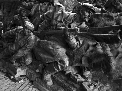 Battle in the underpass, Kiev, Ukraine, 2009