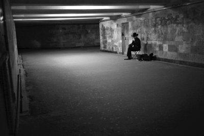 Lonesome cowboy, Kiev, Ukraine, 2009