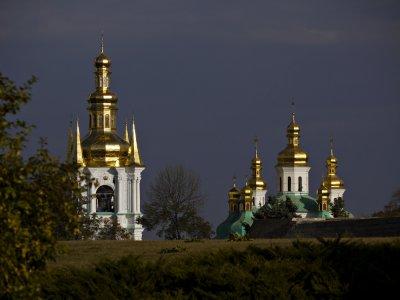 Gilded Towers, Lavra Monastery, Kiev, Ukraine, 2009