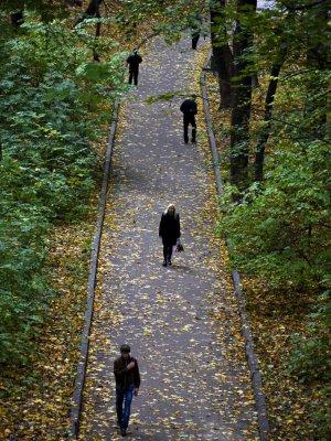 Autumn in the park, Kiev, Ukraine, 2009