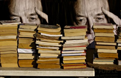 Bookstall, Bucharest, Romania, 2009