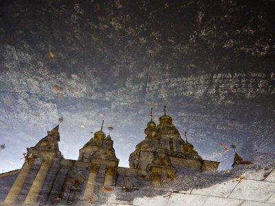 St. Michael's Monastery of the Golden Domes, Kiev, Ukraine, 2009