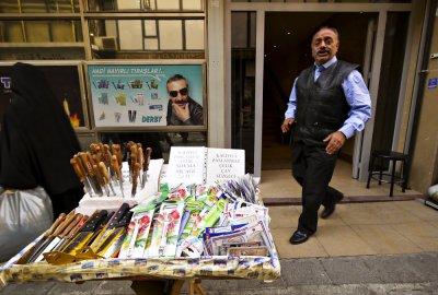 Cutlery shop, Istanbul, Turkey, 2009