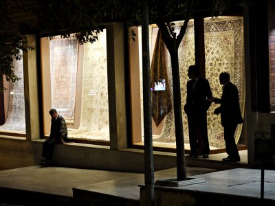 Carpet salesmen, Istanbul, Turkey, 2009