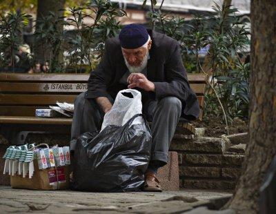 Street vendor, Istanbul, Turkey, 2009