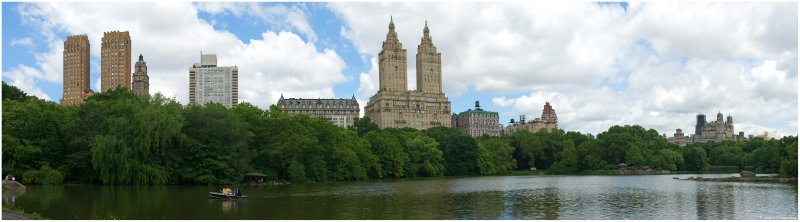 Central Park West and The Lake Panorama
