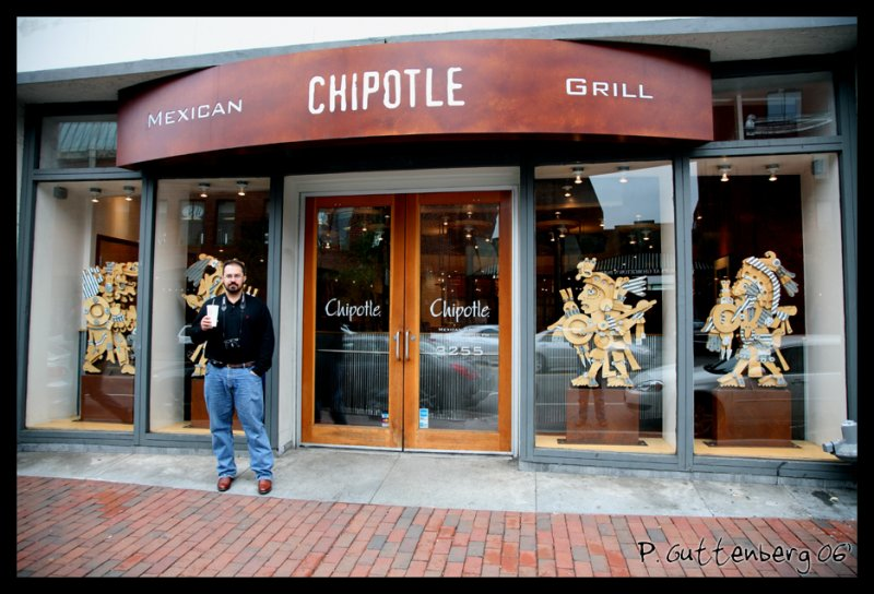 Lunch at Chipotle
