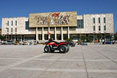 Tirana - Skanderbeg Square