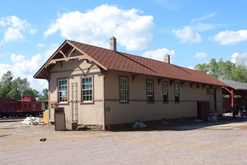 MCRY Depot after the Flood 2008