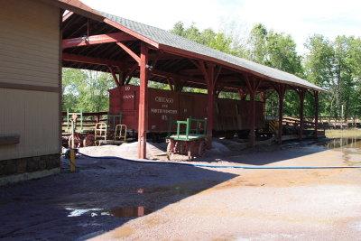 Narrow Guage Pavilion