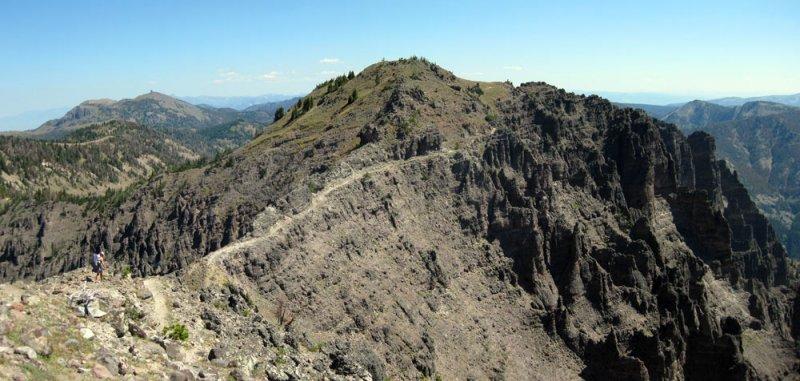 Bighorn Peak, Sky Rim Trail, Yellowstone NP