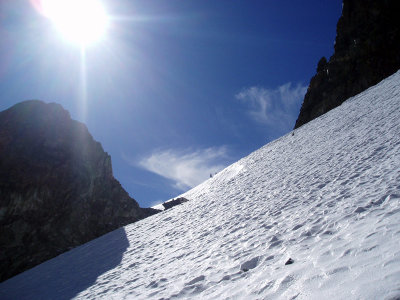 Mount Ritter snow slopes