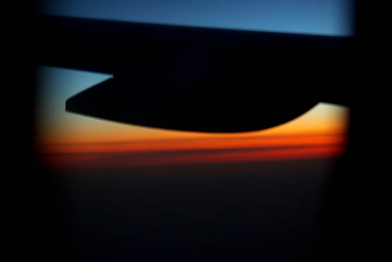 IMGP8607:  Sunrise over Greenland (first_image)