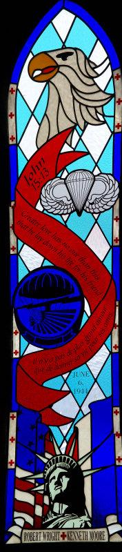R. Wright & K, Moore window