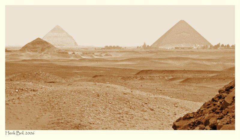The Pyramids of Dashur