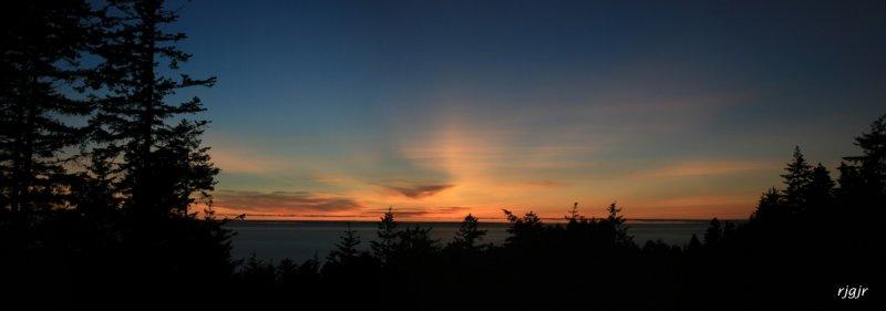 Crepuscular Ray Sunset