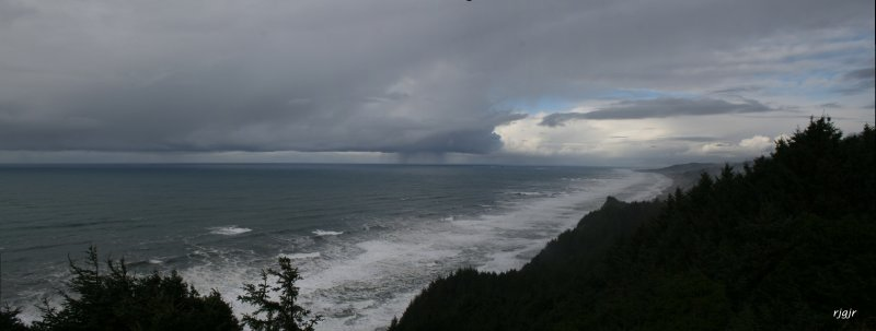 Winter Squall Line, Gold Beach, OR