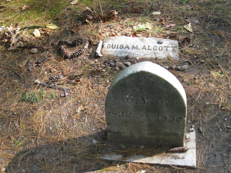 Louisa M. Alcott - Sleepy Hollow Cemetery - Concord, Mass.