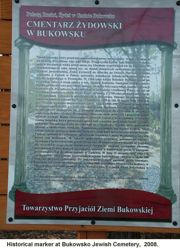 VERY Rough Translation of this sign. If you can understand Polish, please let me know.