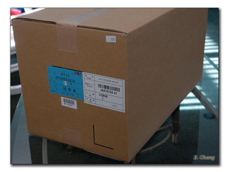 Nikkor 200-400mm f/4g ED-IF AF-S VR