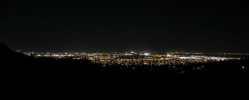 Night view of San Jose
