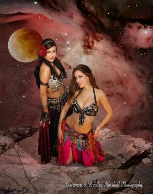 Rose nebula girls - Portia and Roshanna