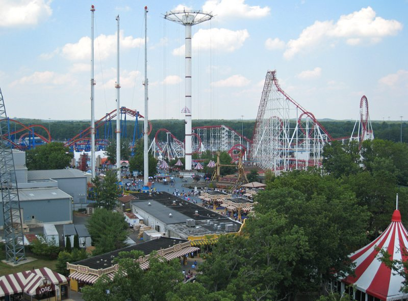 Six Flags Great Adventure - American Scream Machine (Right)