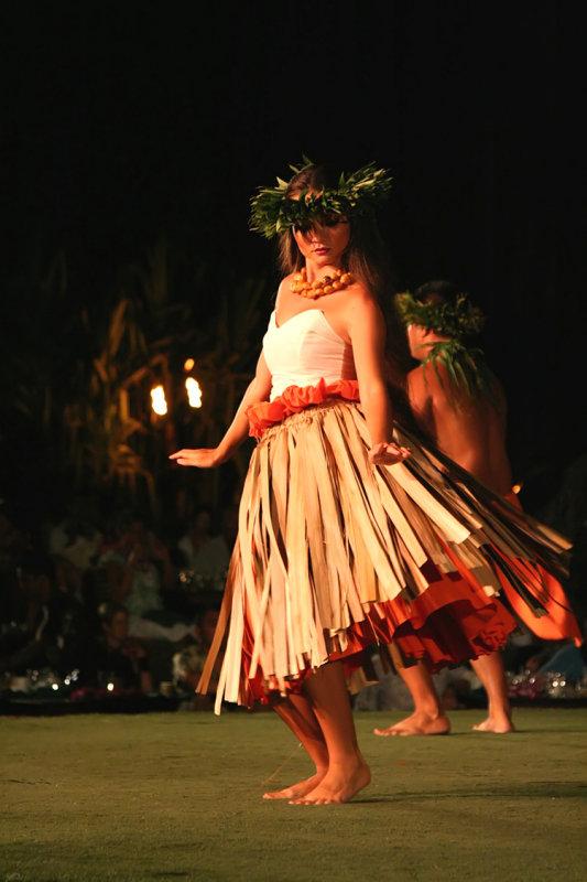 Old Lahaina Luau - Hula Girl