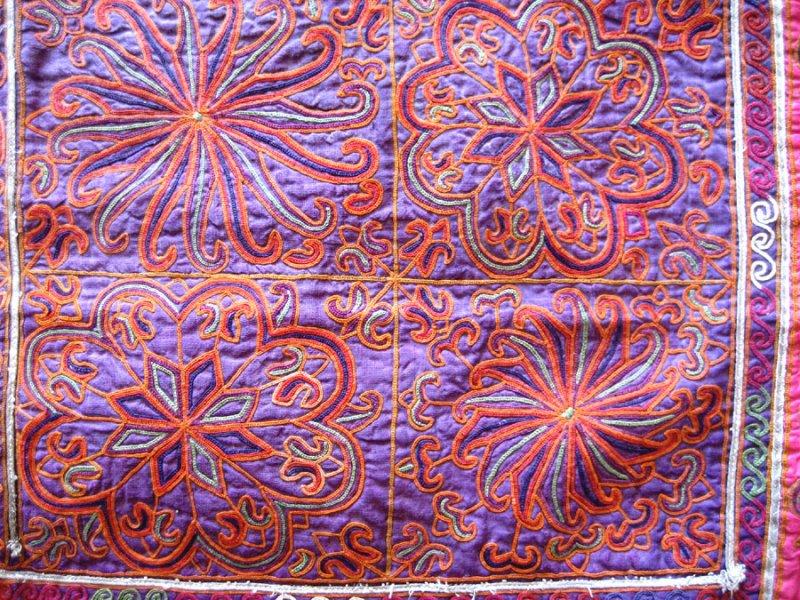Afghanistan - chain stitch (detail)