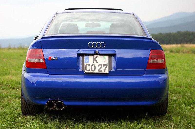 Nogaro Blue Audi S4 Rear.jpg