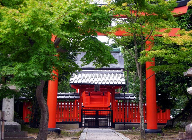 A Temple in Kyoto, Japan