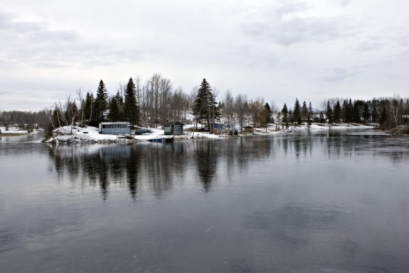 End of the Rosepoint in Long Lake.