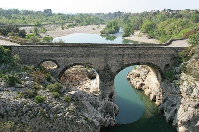 Le pont du Diable, classé dans la liste du patrimoine mondial de lUNESCO