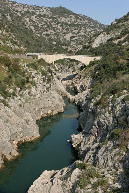 Vacances dans le Languedoc- Les gorges de lHérault