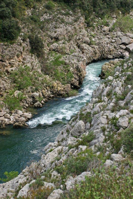 Vacances dans le Languedoc - Gorges de lHérault