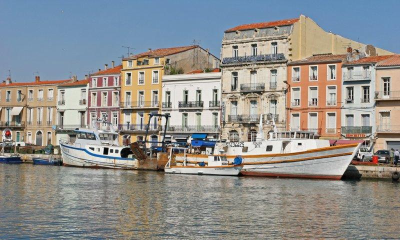 Vacances dans le Languedoc - Le port de Sète