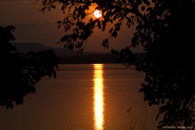 End of the Day on the Zambezi at Rifa