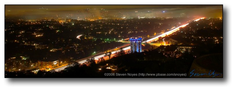 LA From the Getty Center (Blade Runner anyone?)