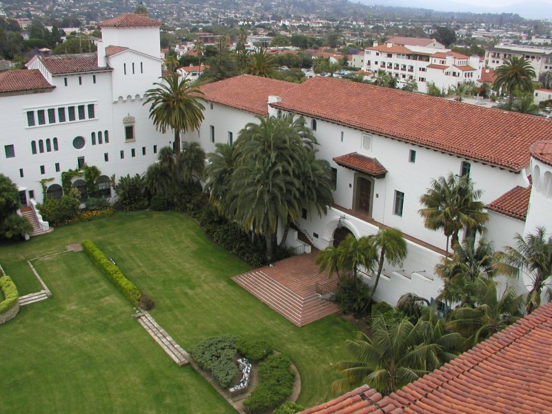 The Sunken Gardens at the Santa Barbara Courthouse