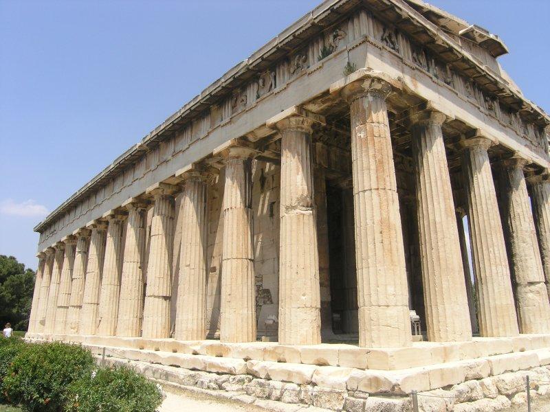 Near the Acropolis
