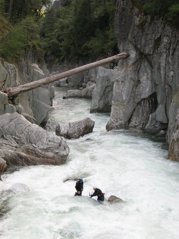 Generation Gap, North Fork of the American River
