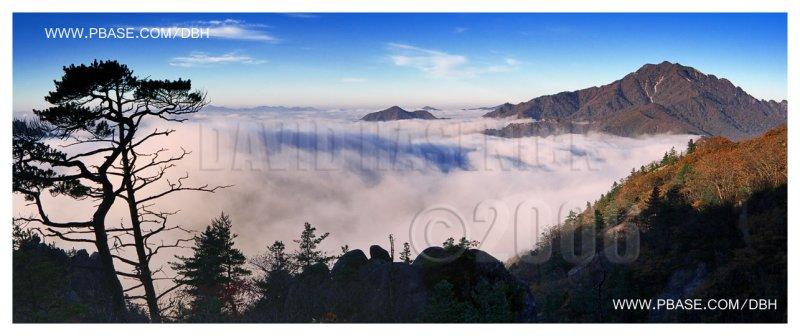 Sunrise Above the Clouds - Soraksan National Park