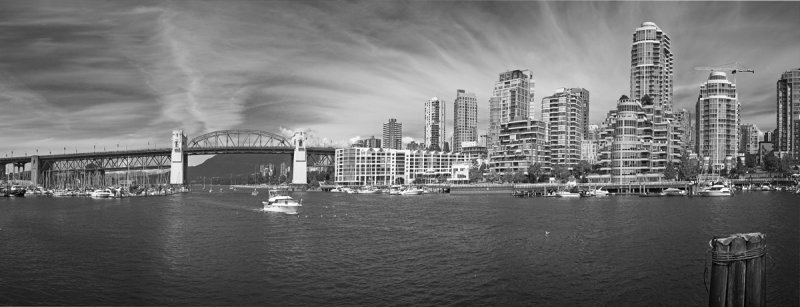 Downtown Vancouver  taken from Granville Island